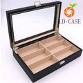 Luxurious Black Eyeglasses / Sunglasses Storage Organizer