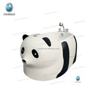 K-532P 2016 New product 5 years warranty Ce Rohs Fcc approved white and black panda baby bath tub