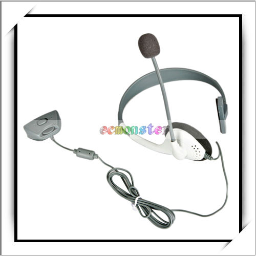 Headphone Headset Microphone For Xbox360 Live