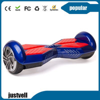 buy portable type 2 two balance wheel electric motorized scooter working hoverboard with fast shipping