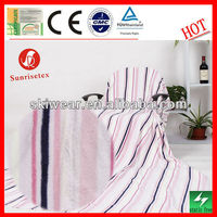 Anti Static Soft Polar Fleece Airline Blanket