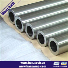 High Quality ASTM B387-90 pure molybdenum pipe