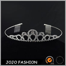 Bridal Wedding Tiara with Austrian Crystal