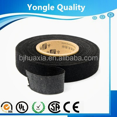 Extremely soft surface automotive polyester fleece tape