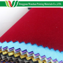 Book binding paper backed mercerized cloth roll for album material