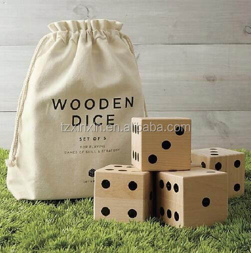 hot selling giant Yard dice,giant wooden dice