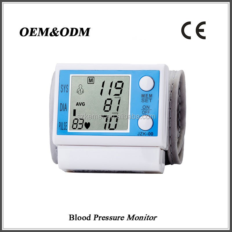 Automatic big LCD screen digital blood pressure apparatus