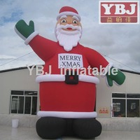 new design hot sale Christmas inflatable big Santa Claus/cheap inflatable santa/Inflatable chrismas cartoon