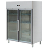 Kitchen display refrigerator 2 doors upright freezer with glass doors refrigerator freezer BN-UC1300R2G