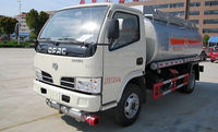 2015 Hot sale small Fuel Tank Truck 4X2 Oil Tanker