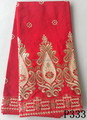 Red heavy silk fabric raw silk fabric for sale indian george lace fabric