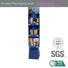Plastic Transparency Box supplier corrugated board nail display rack vapor pen display