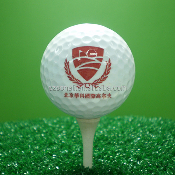 Hot sale Tai wan two piece cutomize golf ball stamp