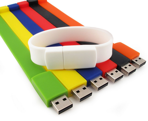 Promotion bracelet usb flash drive