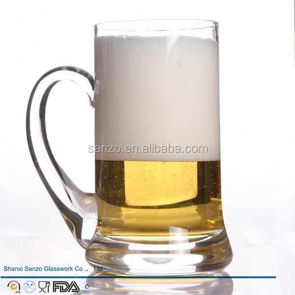 Sanzo Custom Glassware Manufacturer eco-friendly 3d beer glass mug cup