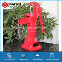 Hand Operated Cast Iron Water Transfer Hand Pumps