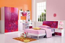 2016 lovely colorful kids bedroom home furniture for boys and girls PY-6330
