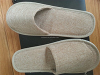 cloth fabrics disposable hotel slipper customized whole factory soft good quality