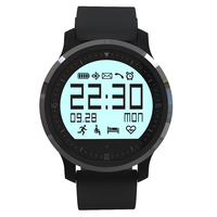 touch screen heart rate twitter remind smartwatch android 4 navigation
