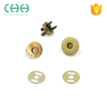 Supplier direct eco-friendly magnetic press combined snap button for bags / cloth