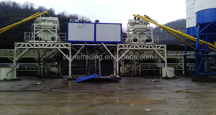 Low Cost HZS25 Concrete mixing Plant, Full Automatic Ready Mixed Concrete Batching Plant