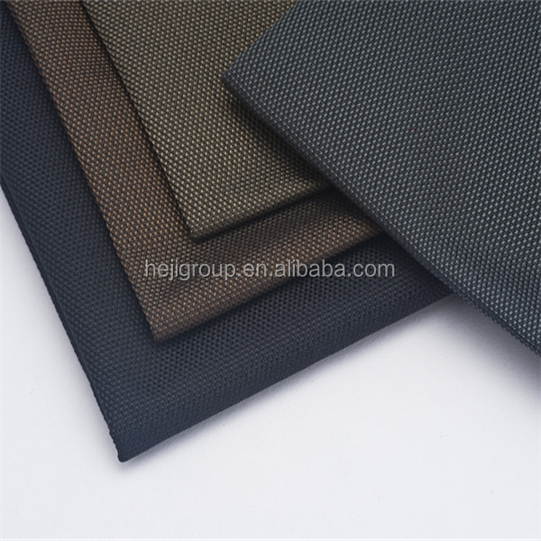 900d 100% polyester oxford fabric 900d polyester cordura with PVC coated