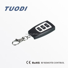 TDL-150-3 3 buttons car stereo remote control 3 key remote control metal case