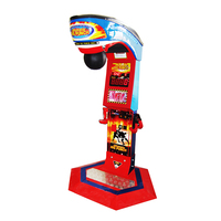 Coin operated arcade redemption game machine boxing punch game machine