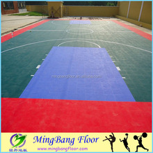 china supplier PP interlocking sports flooring basketball courts