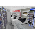 High end mobile phone shop furniture, mobile phone display showcase cell phone shop fitting