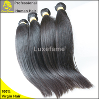 100% brazilian straight hair natual color unprocessed Guangzhou human virgin hair