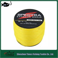 New Arrival Factory Bulk 1000m Fishing Braided Line Yellow/White/Red