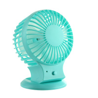 4 inch rechargeable cooling desk fan with dual motor strong wind mini size