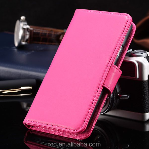 Fashion High Quality Wallet Flip Cover PU Leather Case for Samsung Galaxy S5 I9600 Stand Holder Photo Album ID Card RCD03814