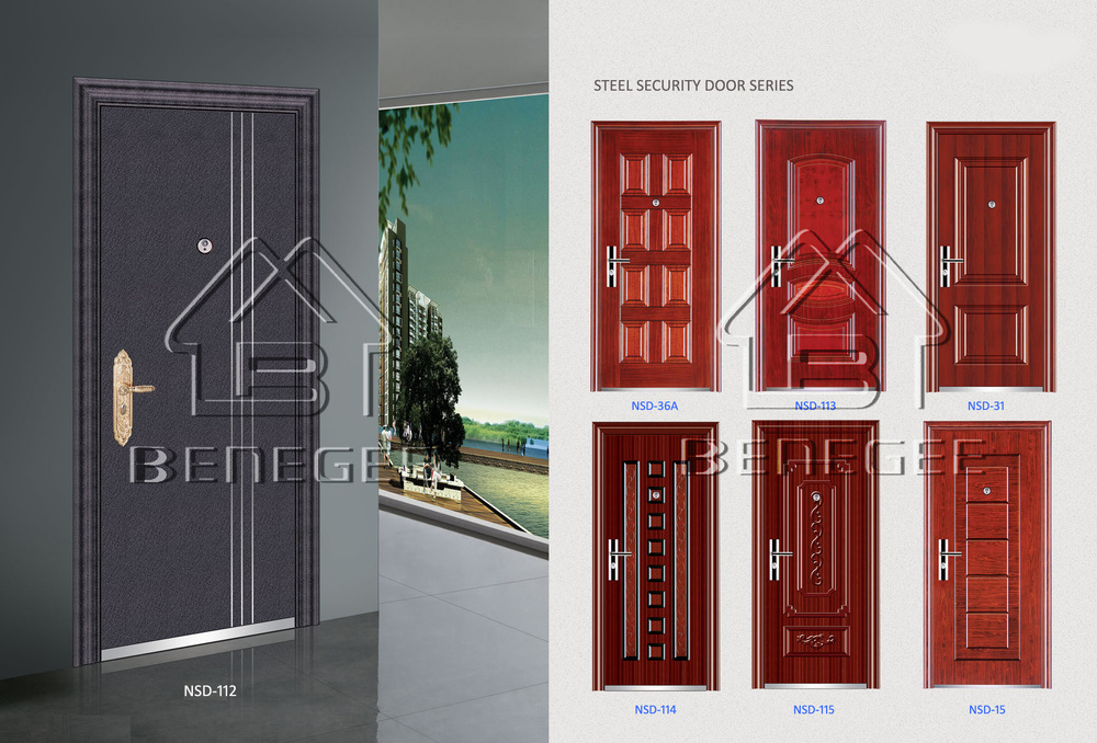 Steel Door Steel Door Skin Cheap Exterior Steel Door