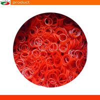 Red Rubber Ring Rubber Band Rubber Elastic