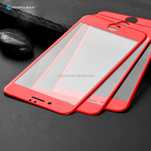 Pivoful For Iphone 7 Chinese Red 3d full size tempered glass for iphone7 3D Full Cover Red Color Screen Protector For Iphone 7