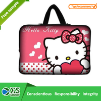 cheap neoprene laptop hello kitty printing laptop bags