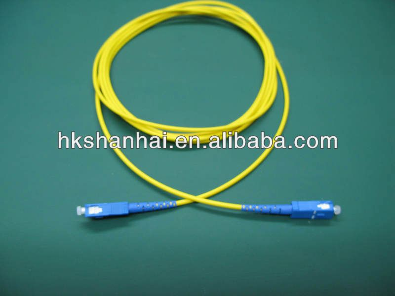 G657/G655/G652 fiber 3.0mmm fiber optic patch cord led fiber optic star light