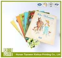 Trustworthy china supplier cartoon picture children story books printing