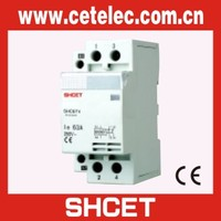 Hot sale SHCET Din rail electric contactor modular contactor