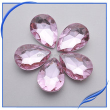2014 wholesale cheap bulk decorative glass gemstone jewelry
