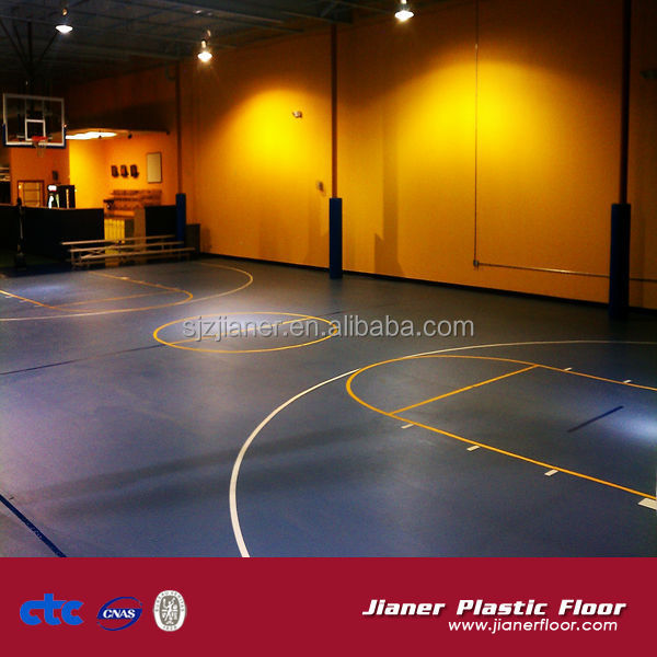 Indoor Wood Basketball Court Flooring For Sale