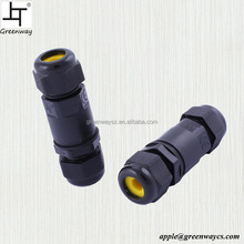 Water-Resist 2pin 3pin 4 pin Low Voltage Connector IP68 Waterproof Cable Connectors for Electrics