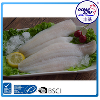 Seafood Manufactures of the rock sole fillets