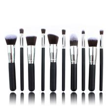 HOT281 Cheap Price small Gold toothbrush oval makeup brush set