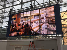 big outdoor led advertising screen for commercial advertising Led screen display Led Curtain