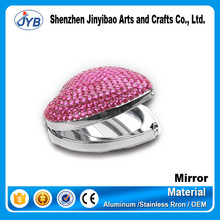 Cheap Promotional Round or Heart Any Shape Fashion Make Up Pocket Mirror
