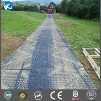 Plastic Temporary Protective Floor Coverings PE ground protection mat
