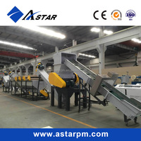 PP PE Plastic Film Washing and Recycling Line/ Film Recycling Machine